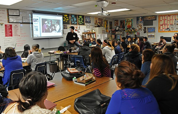 Nick Juravich shares pictures from South El Monte's application for All American City