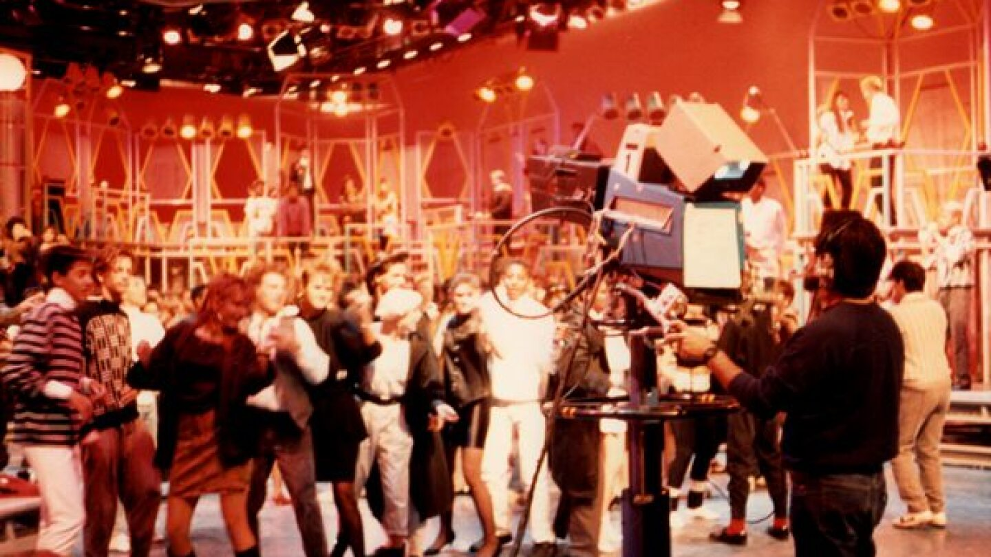 American Bandstand | Photo by Cathy Bower 1988