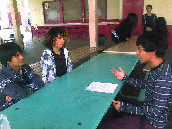 Sophomores prepare for their mock interviews