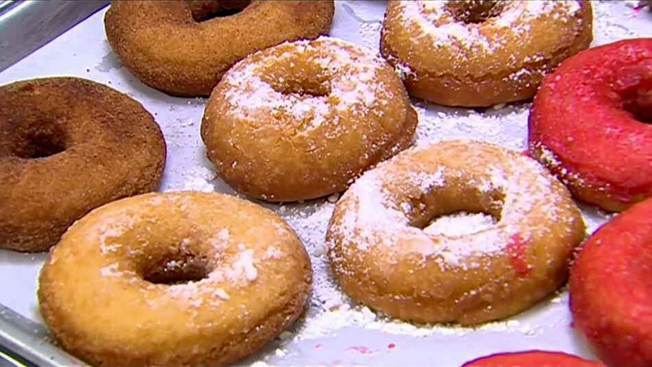 visiting donuts