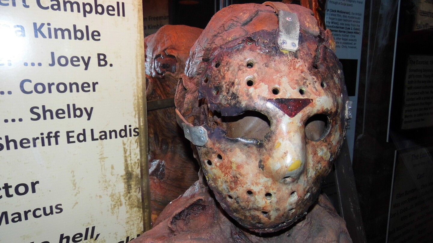 A figure at the Hollywood Museum Dungeon of Doom