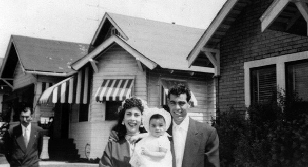 Family in Cypress Park, 1955