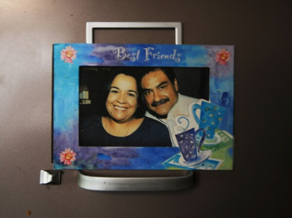 Ceci pictured here with her late husband Reymundo, a long time activist of Elysian Valley