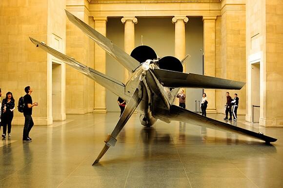 Fiona Banner's Harrier and Jaguar 2010 | Courtesy of Charles Hood