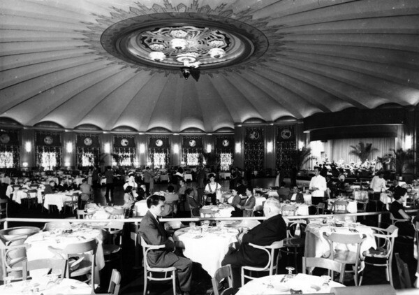 Interior view of the Catalina Ballroom, ca. 1935 | Security Pacific National Bank Collection, Los Angeles Public Library