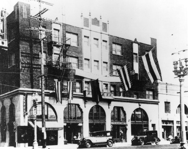 Hotel Somerville ca. 1928 | Photo: Security Pacific National Bank Collection, Los Angeles Public Library