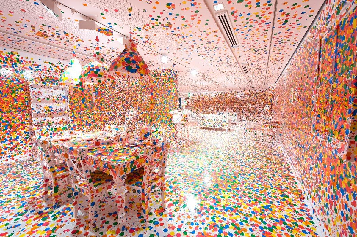 Yayoi Kusama, The Obliteration Room, 2002 to present | QAGOMA Photography. © Yayoi Kusama