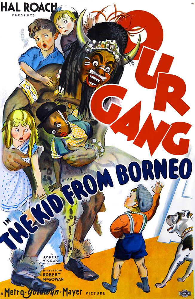 "Film poster for ""The Kid from Borneo,"" 1933, 27 x 41"" 