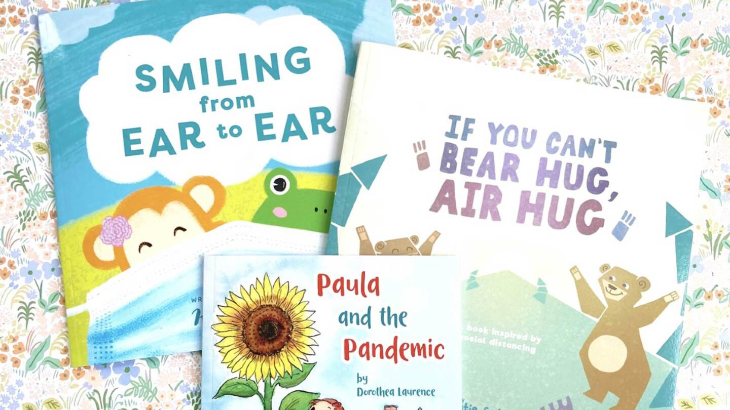 Pandemic kids books