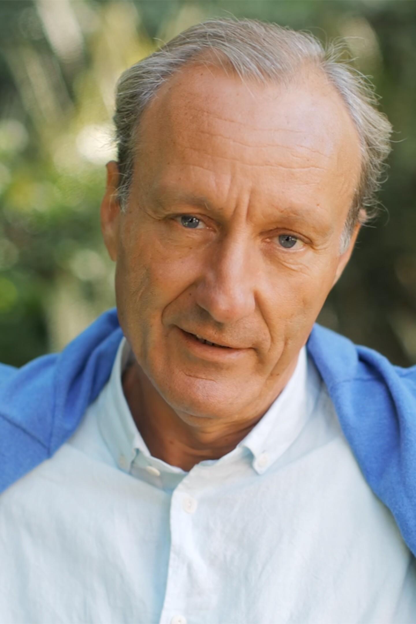 """Portrait of Jurriaan Kamp, host of """"Kamp Solutions."""""""