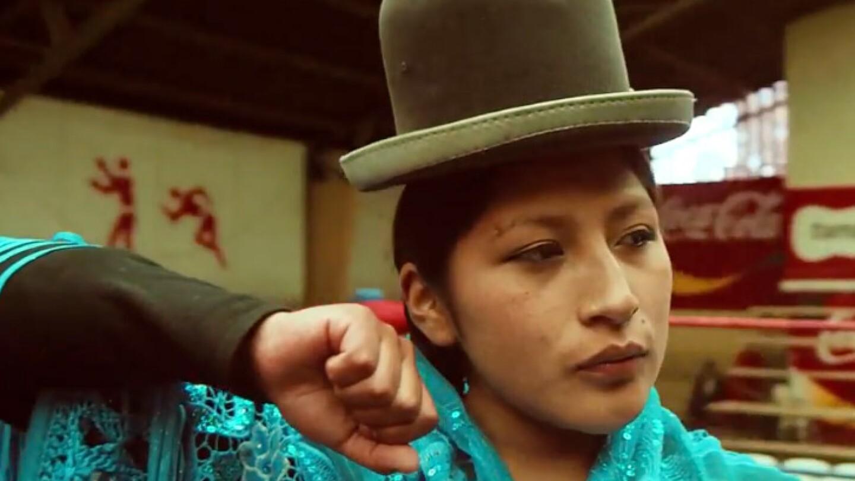Bolivian Women Wrestlers