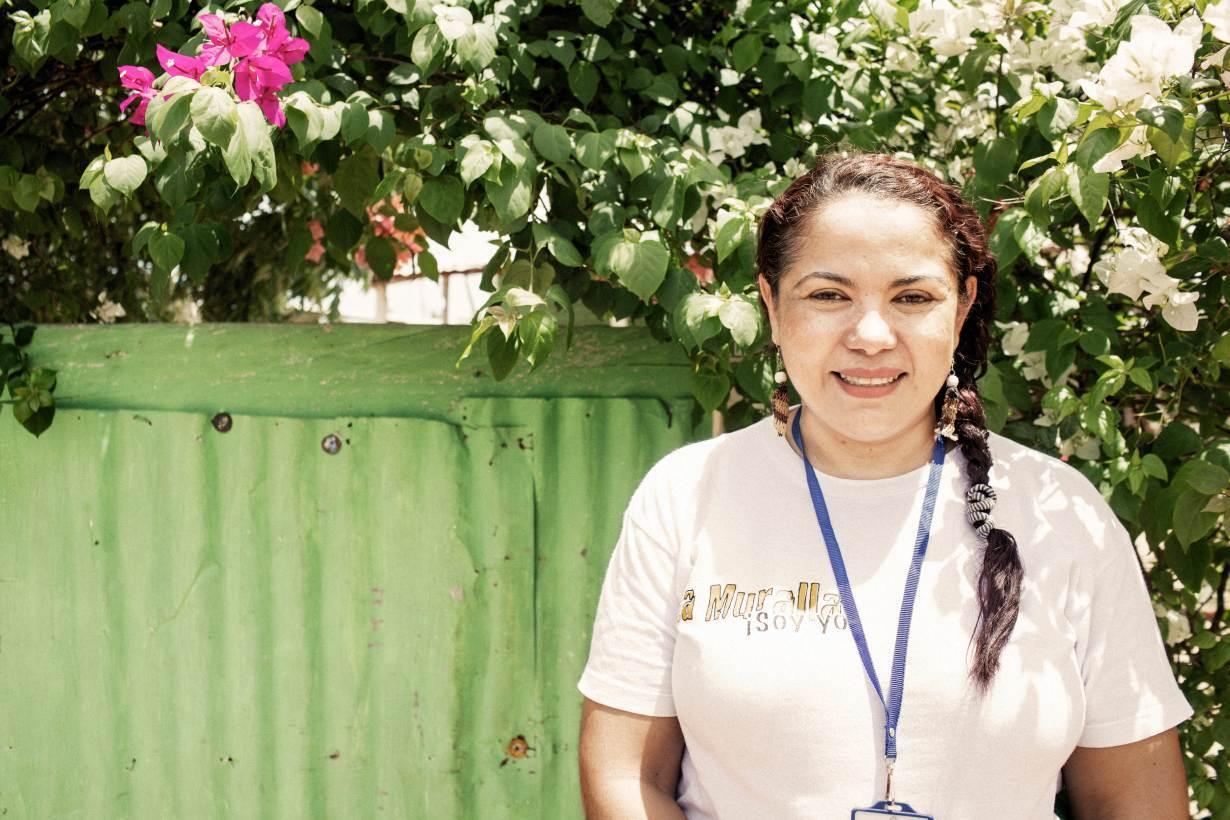 UNHCR's Nansen Refugee Award Laureate 2020, Mayerlin Vergara, in Riohacha, Colombia. | Courtesy UNHCR/Nicolo Filippo Rosso