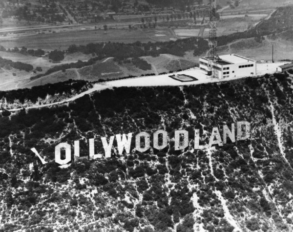 'Ollywoodland' | Security Pacific National Bank Collection, Los Angeles Public Library