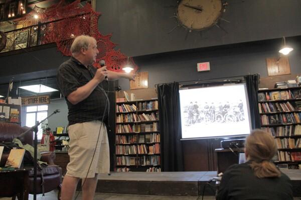 David Herlihy at The Last Bookstore | Photo: Krista Carlson