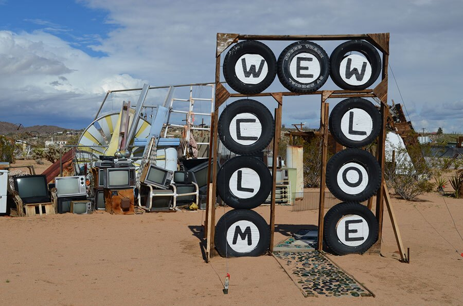 Noah Purifoy sculpture. | Photo: Tanja M. Laden.