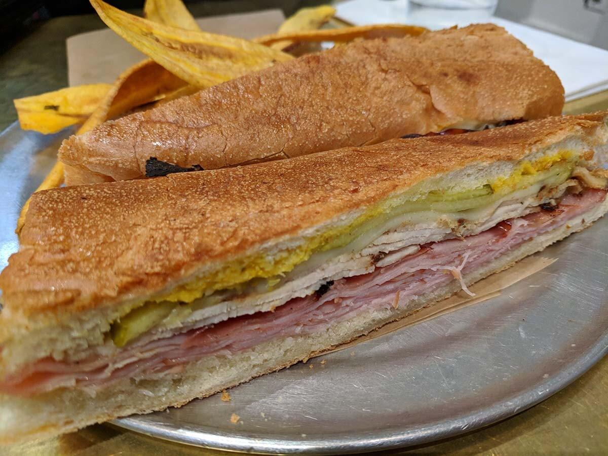 The Cubano sandwich at Don Francisco Casa Cubana   Courtesy of Gaviña Coffee Company