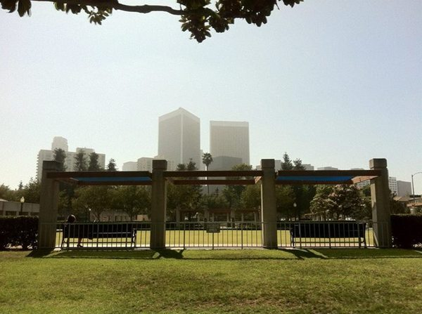 Century City -- Roxbury Park lawn bowling and croquet