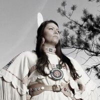 Desi Rodriguez Lone Bear (Northern Cheyenne).