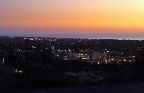 The view from Poinsettia Pavilion in Ventura, CA.   Photo: Courtesy Hank Tovar