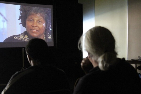 Screening of Wanda Coleman interview at the Vision Theater in Leimert Park