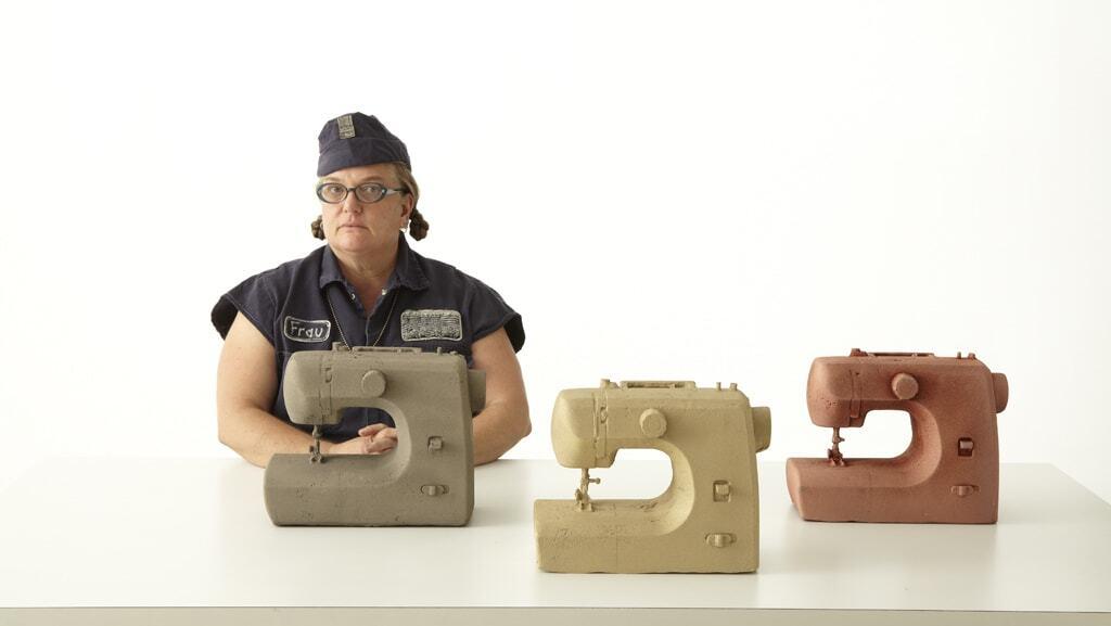 Frau Fiber and the global wage awards   John Michael Kohler Arts and Industry Residency