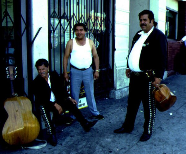 Mariachis in the late 1980s | Photo courtesy of James Rojas