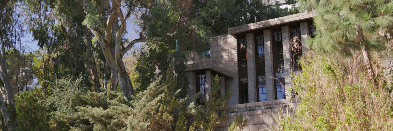 Storer house still from Frank Lloyd Wright AB s9