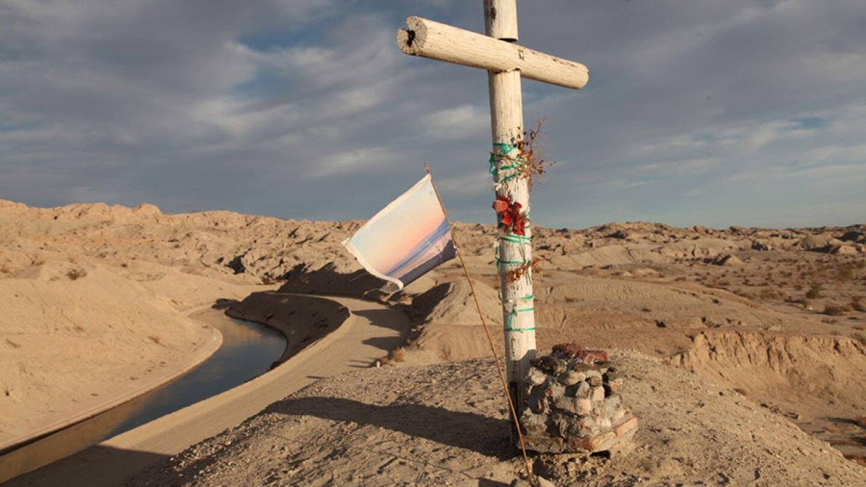 Flag on a hill | Photo: Drew Tewksbury
