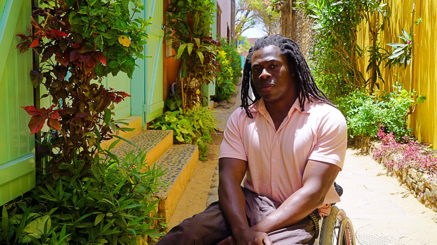 "Ade Adepitan, host of ""Africa with Ade Adepitan"""