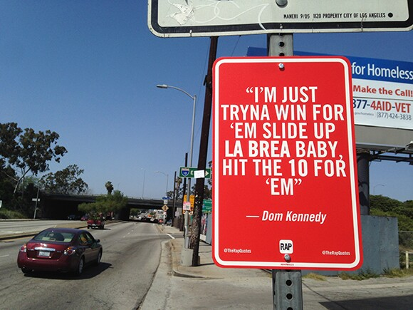 Lyrics by Dom Kennedy | Courtesy of Jay Shells