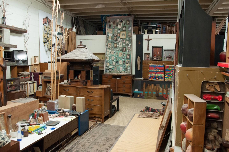 Kenzi Shiokava's studio.   Photo: Kenya Davis-Hayes