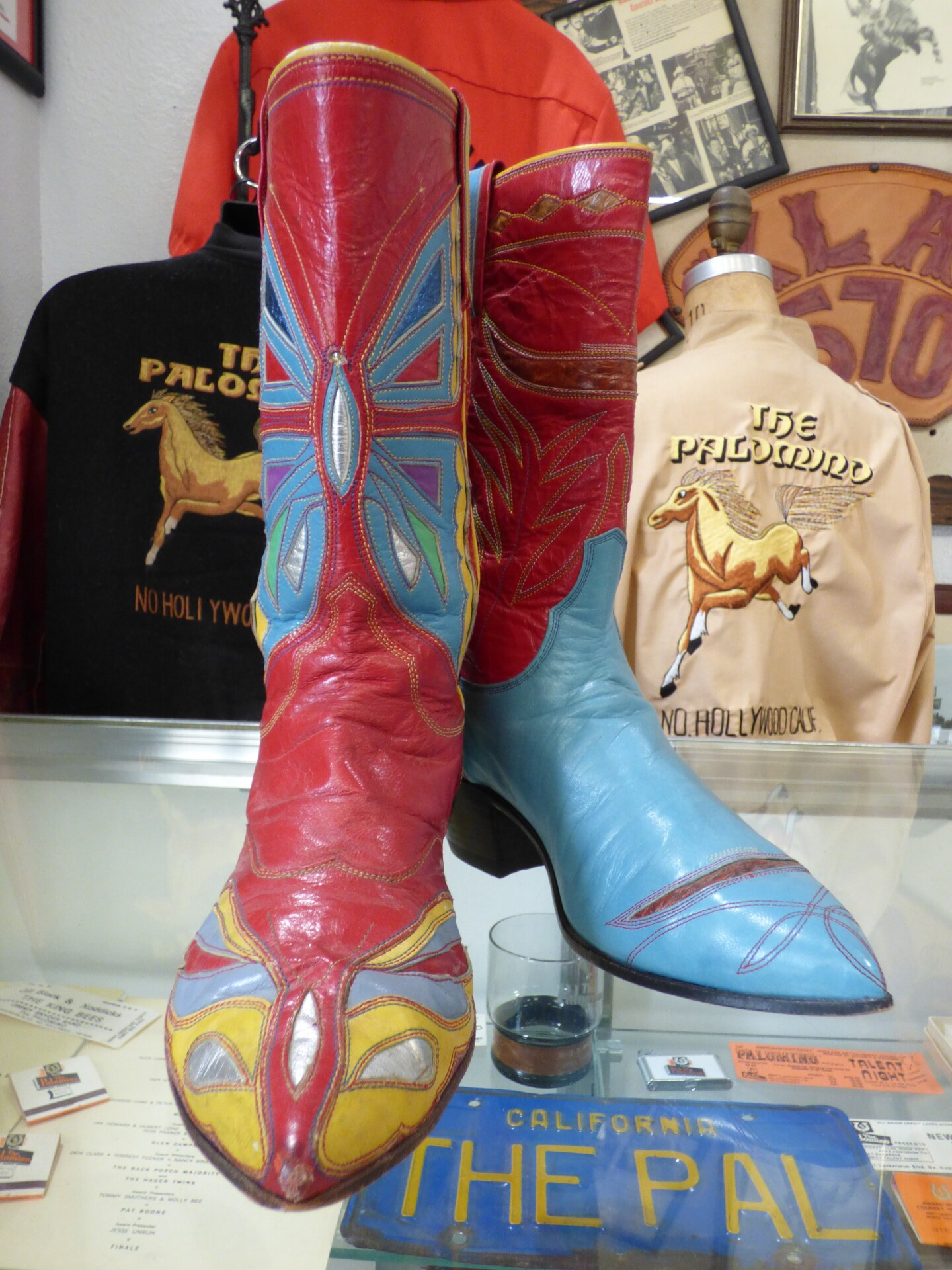 Nudie's signature mismatched boots | Henry Cram