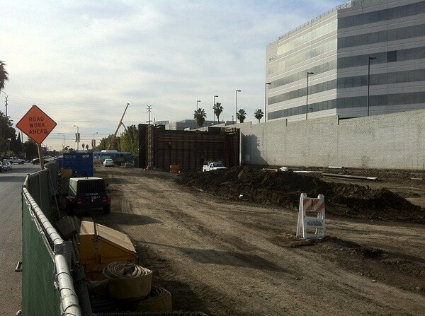Expo/Bundy Station construction