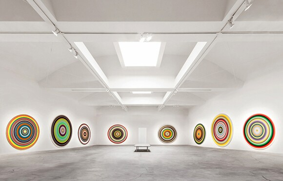 """""""CIRCLES/WORDS"""" at Ace Gallery, Beverly Hills."""