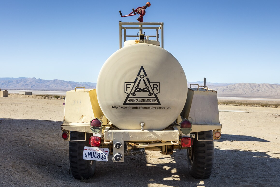 FAR (Friends of Amateur Rocketry), Cantil, CA (2015). | Kim Stringfellow