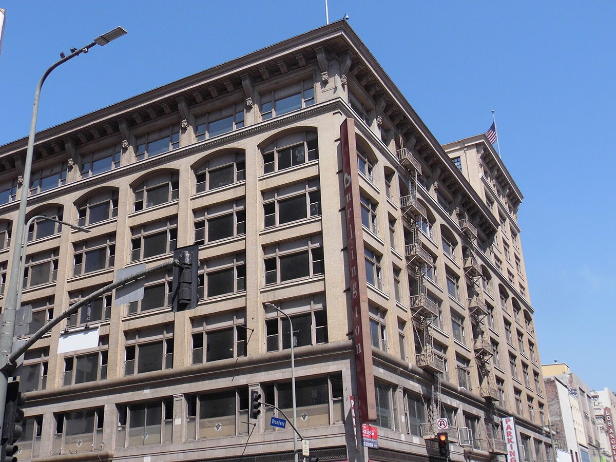 The former location of the Bullock's flagship department store now houses a Burlington. | Sandi Hemmerlein