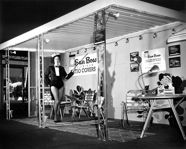A Sun Boss model at the 'Orange Show' in the 1950s | Courtesy of Sun Boss Corporation