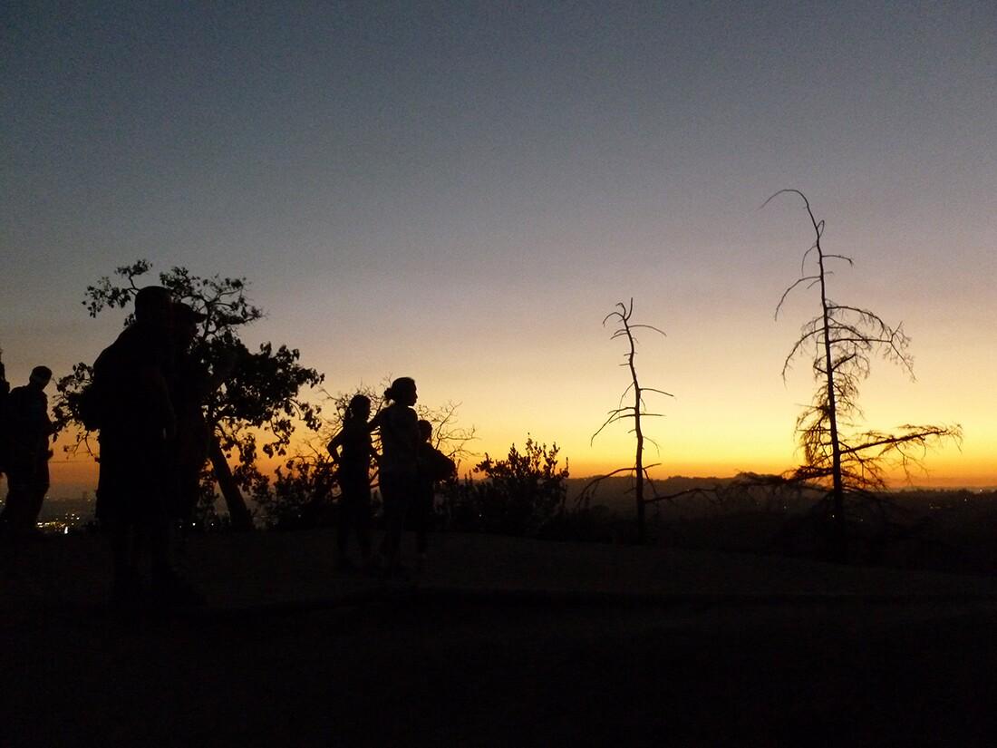 Griffith Park Sunset Hike