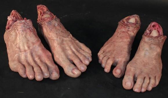"""Feet from """"Drawing Restraint 9,"""" 2005. A film by Matthew Barney © Matthew Barney."""
