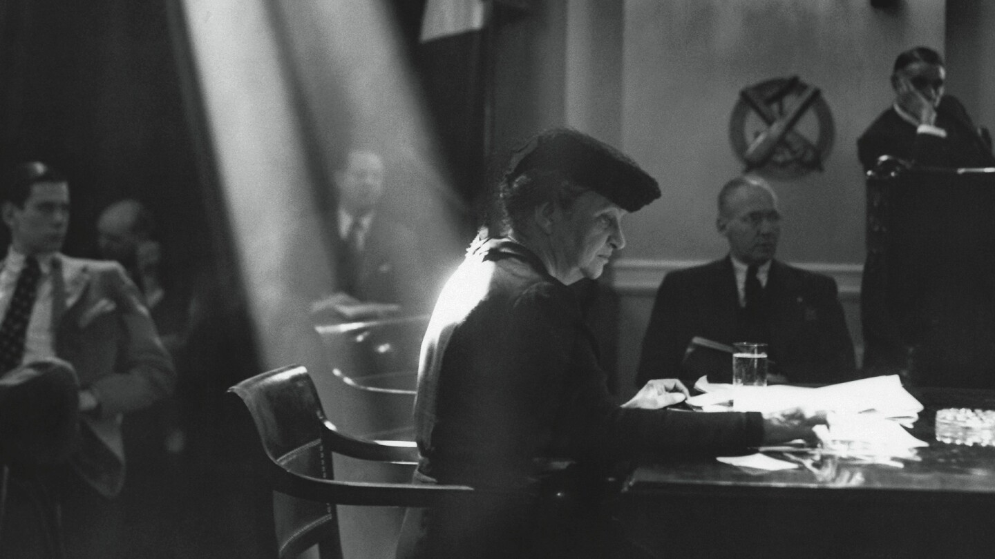 """Still from """"Summoned: Frances Perkins & the General Welfare"""""""