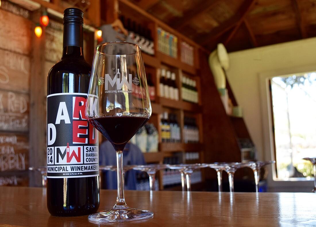 Municipal Winemakers tasting room   Danny Jensen