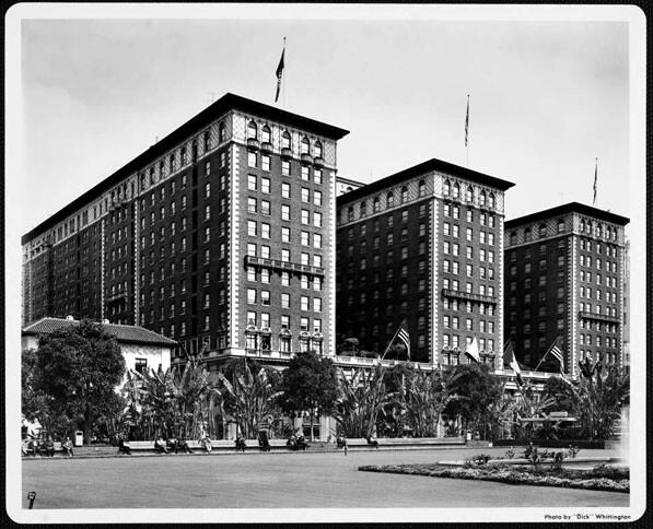 Biltmore Hotel and Pershing Square
