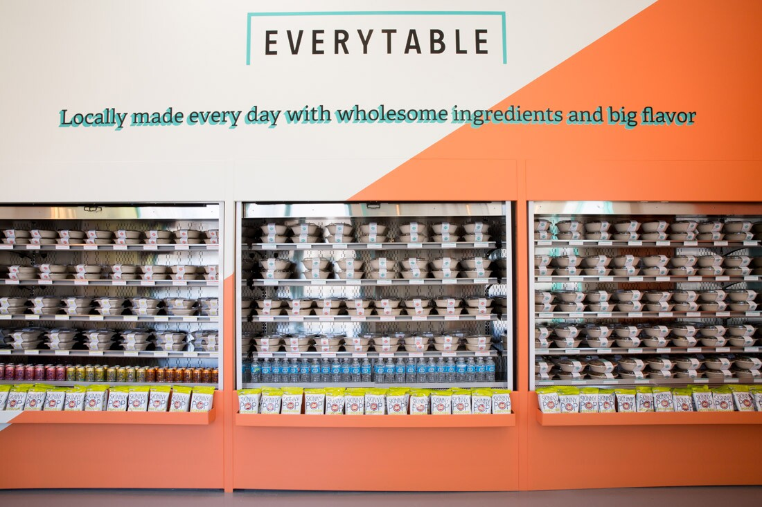 Everytable Refrigerator Front