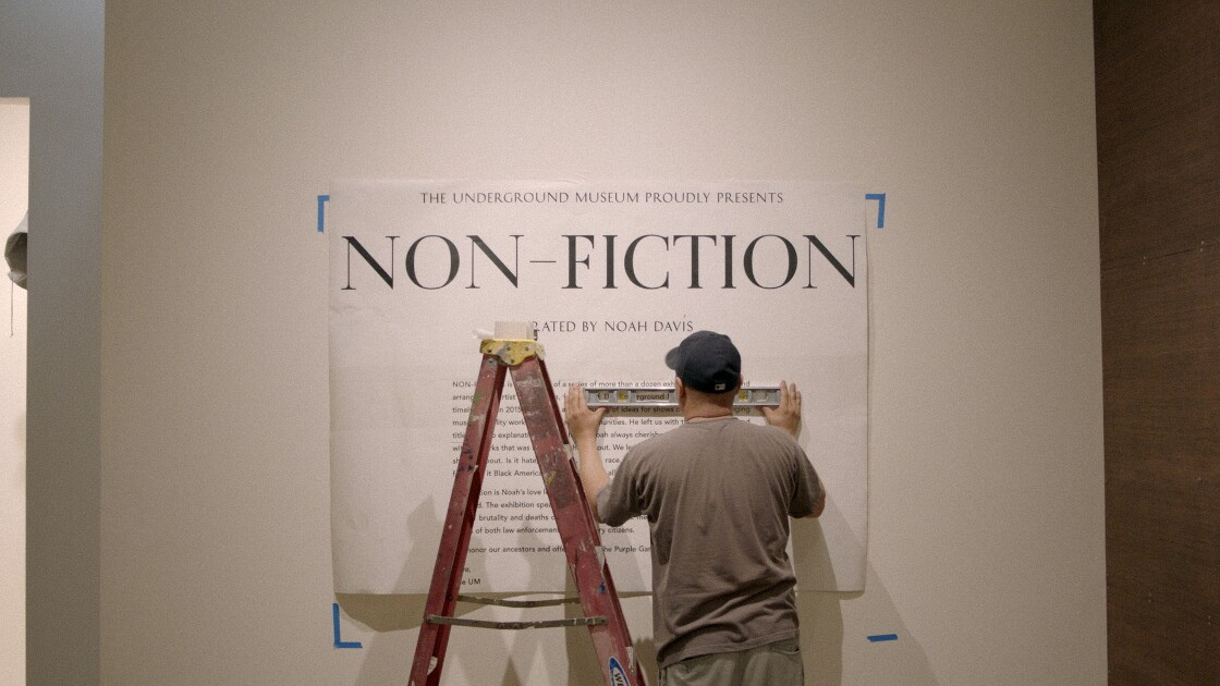 """Non-Fiction"" at the Underground Museum"