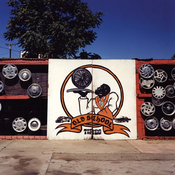 """Old School Tire Shop,"" 2007 