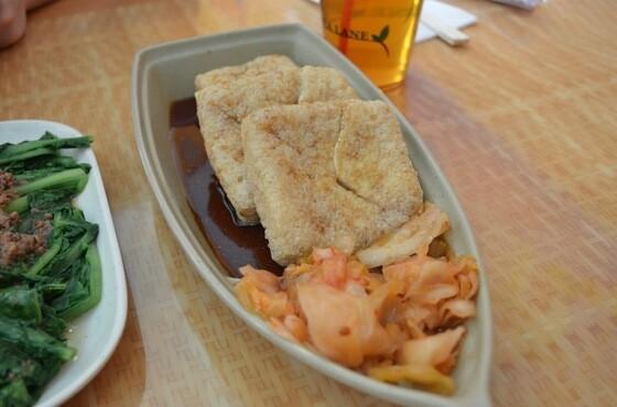 Stinky tofu from Tofu King | Photo credit: Clarissa Wei