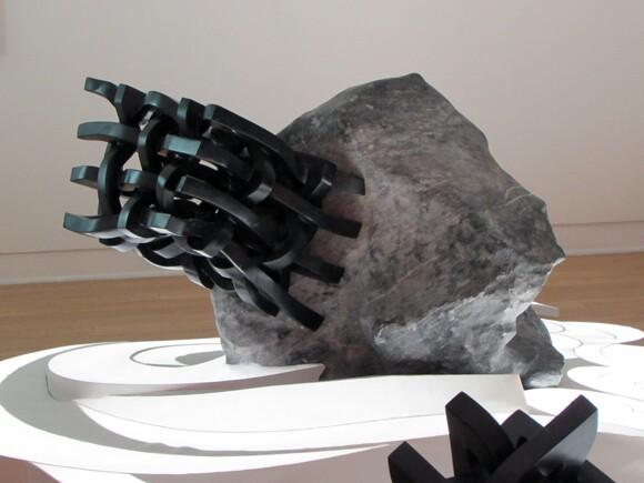 Detail on Elizabeth Turk installation at Laguna Art Museum