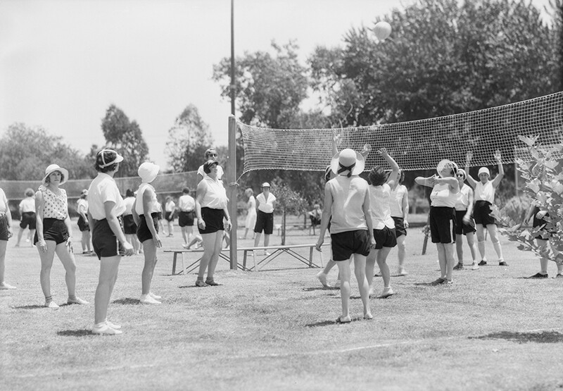 Womens Play Day, Griffith Park 1932 | Dick WhittingtonPhotographyCollection,1924-1987, University of Southern California Libraries