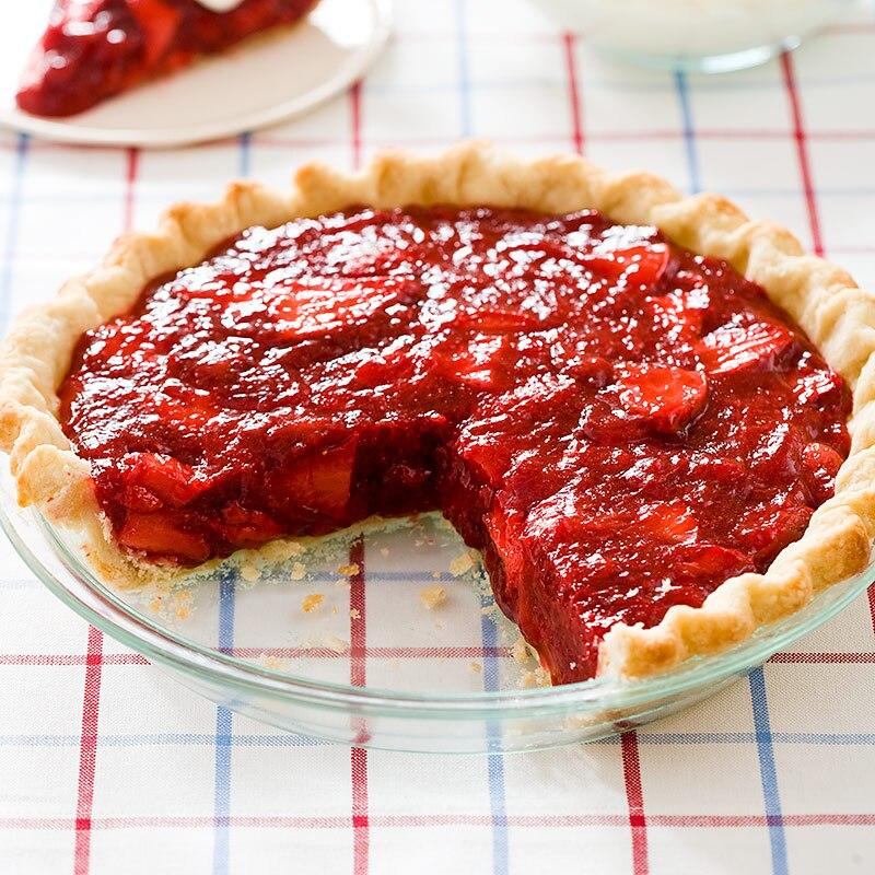 Icebox Strawberry Pie