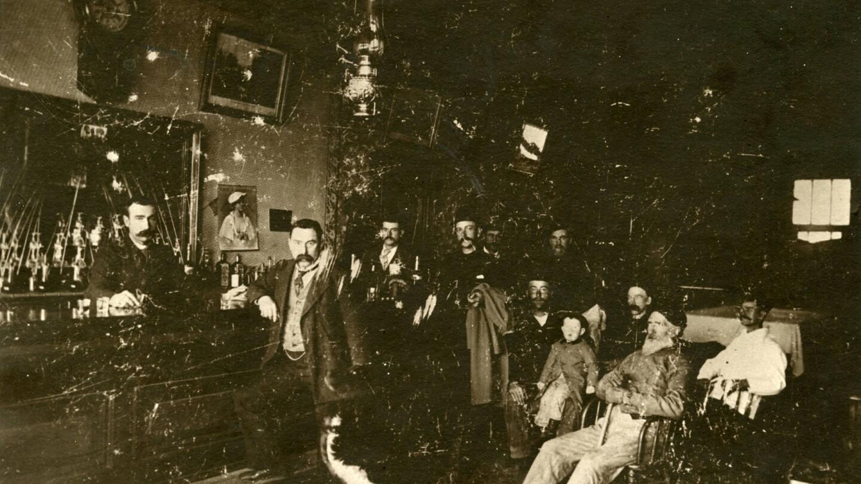 John Black's Saloon, Bishop, California